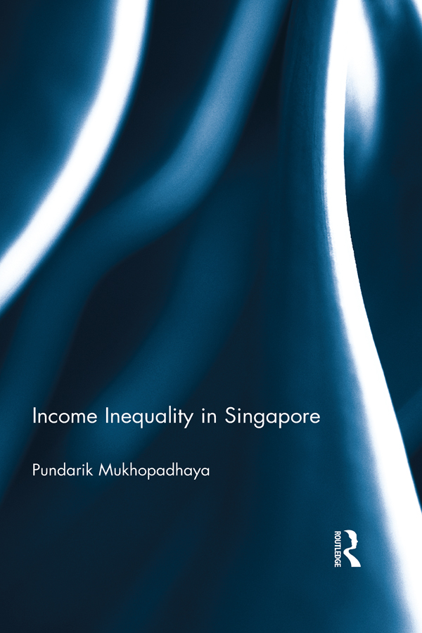 Income Inequality in Singapore book cover