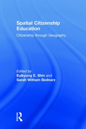 Spatial Citizenship Education: Citizenship through Geography, 1st Edition (Paperback) book cover