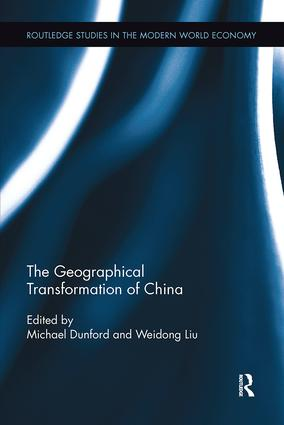The Geographical Transformation of China: 1st Edition (Paperback) book cover