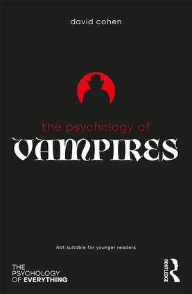 The Psychology of Vampires book cover