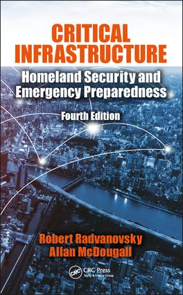 Critical Infrastructure: Homeland Security and Emergency Preparedness, Fourth Edition, 4th Edition (Hardback) book cover