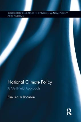National Climate Policy: A Multi-field Approach, 1st Edition (Paperback) book cover