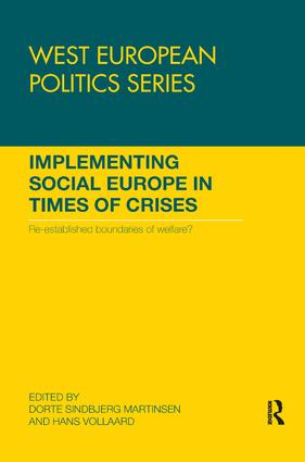 Implementing Social Europe in Times of Crises: Re-established Boundaries of Welfare? book cover