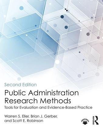 Public Administration Research Methods: Tools for Evaluation and Evidence-Based Practice, 2nd Edition (Paperback) book cover
