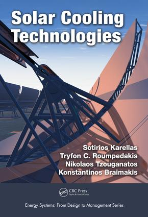 Solar Cooling Technologies: 1st Edition (Hardback) book cover