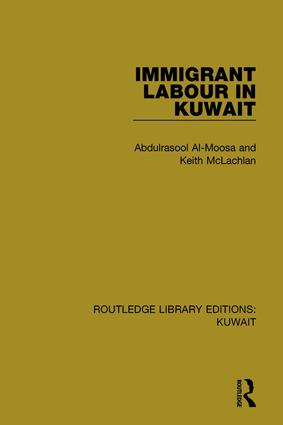 Immigrant Labour in Kuwait book cover