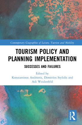 Tourism Policy and Planning Implementation: Issues and Challenges book cover