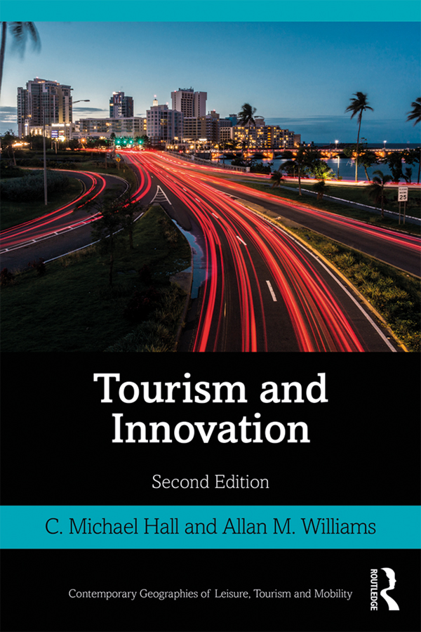 Tourism and Innovation: 2nd Edition (Paperback) book cover
