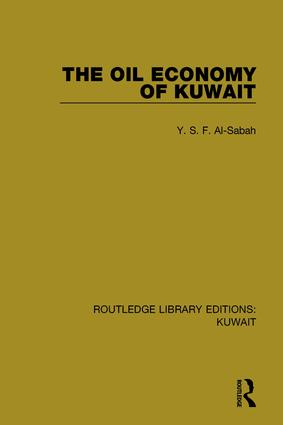 The Oil Economy of Kuwait book cover