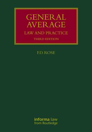 General Average: Law and Practice book cover