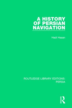 A History of Persian Navigation book cover