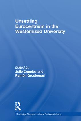 Unsettling Eurocentrism in the Westernized University book cover