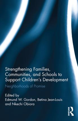 Strengthening Families, Communities, and Schools to Support Children's Development: Neighborhoods of Promise, 1st Edition (Hardback) book cover