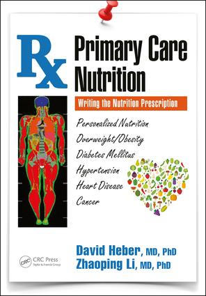 Primary Care Nutrition: Writing the Nutrition Prescription, 1st Edition (Paperback) book cover