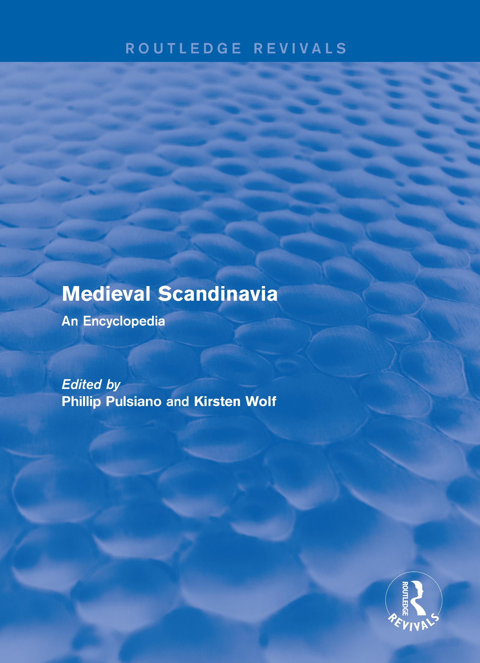 Routledge Revivals: Medieval Scandinavia (1993): An Encyclopedia, 1st Edition (Hardback) book cover