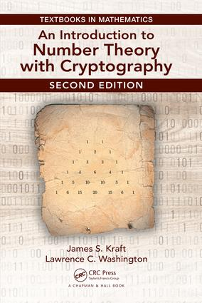 An Introduction to Number Theory with Cryptography: 2nd Edition (Hardback) book cover