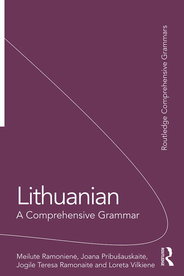 Lithuanian: A Comprehensive Grammar book cover