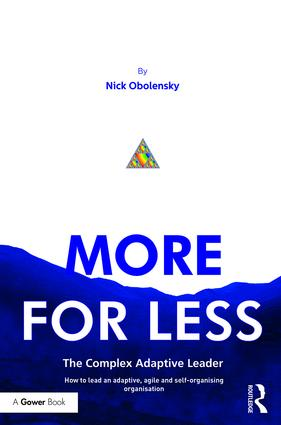 More for Less: The Complex Adaptive Leader book cover
