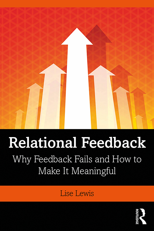 Relational Feedback: Why Feedback Fails and How to Make It Meaningful book cover