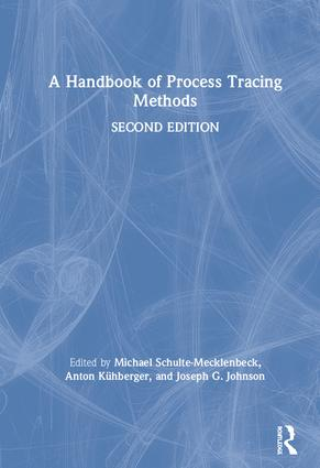 A Handbook of Process Tracing Methods: 2nd Edition book cover