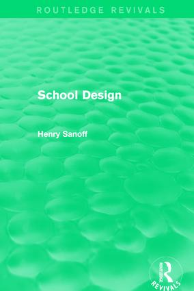 Routledge Revivals: School Design (1994) book cover