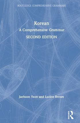 Korean: A Comprehensive Grammar book cover