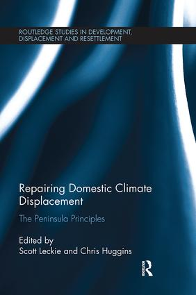 Repairing Domestic Climate Displacement: The Peninsula Principles book cover