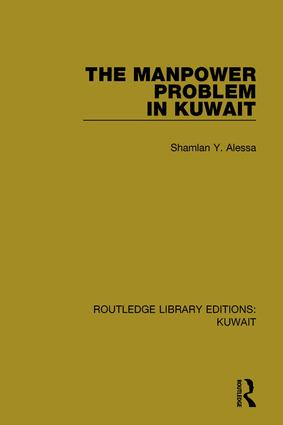The Manpower Problem in Kuwait book cover