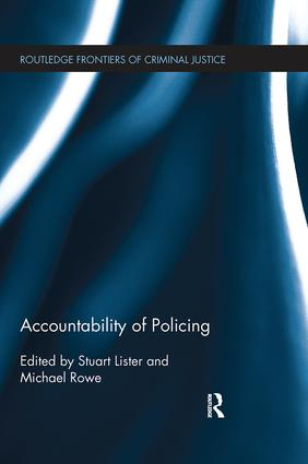 Accountability of Policing: 1st Edition (Paperback) book cover