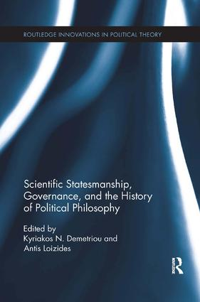 Scientific Statesmanship, Governance and the History of Political Philosophy book cover