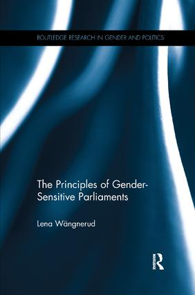 The Principles of Gender-Sensitive Parliaments book cover