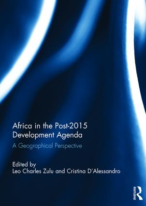 Africa in the Post-2015 Development Agenda: A Geographical Perspective, 1st Edition (Hardback) book cover