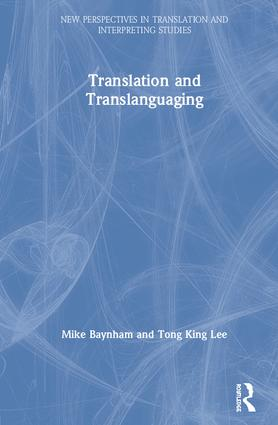 Translation and Translanguaging book cover