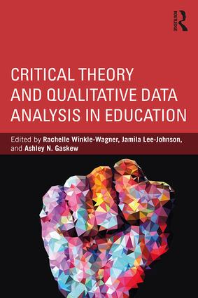 Critical Theory and Qualitative Data Analysis in Education (Paperback) book cover