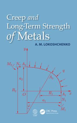 Creep and Long-Term Strength of Metals: 1st Edition (Hardback) book cover
