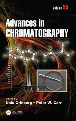 Advances in Chromatography: Volume 55, 1st Edition (Hardback) book cover