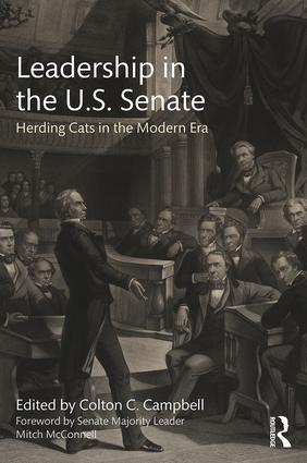 Leadership in the U.S. Senate: Herding Cats in the Modern Era book cover