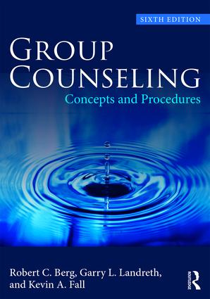 Group Counseling: Concepts and Procedures, 6th Edition (Paperback) book cover