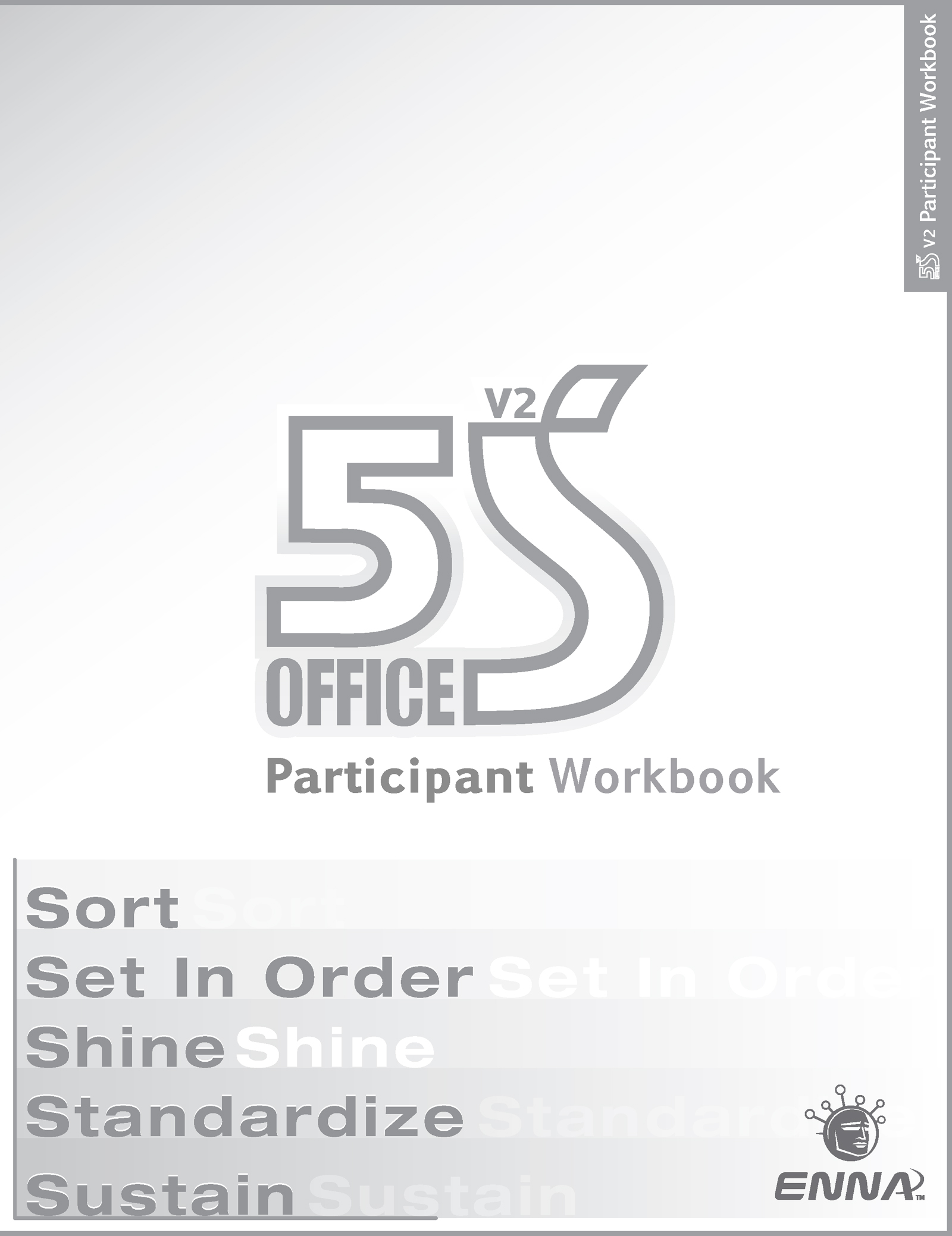 5S Office: Version 2 Participant Workbook: 1st Edition (Paperback) book cover