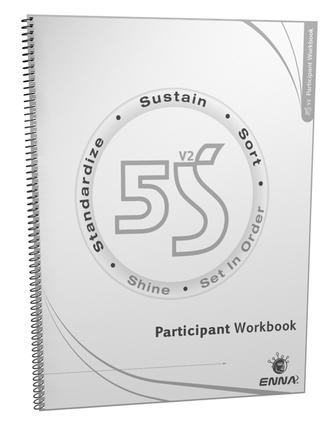 5S Version 2 Participant Workbook: 1st Edition (Paperback) book cover