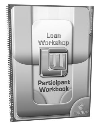 Lean Mfg. Workshop Participant Workbook: 1st Edition (Paperback) book cover