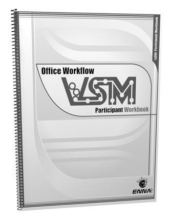 VSM Office Workflow: Participant Workbook: Participant Workbook, 1st Edition (Paperback) book cover