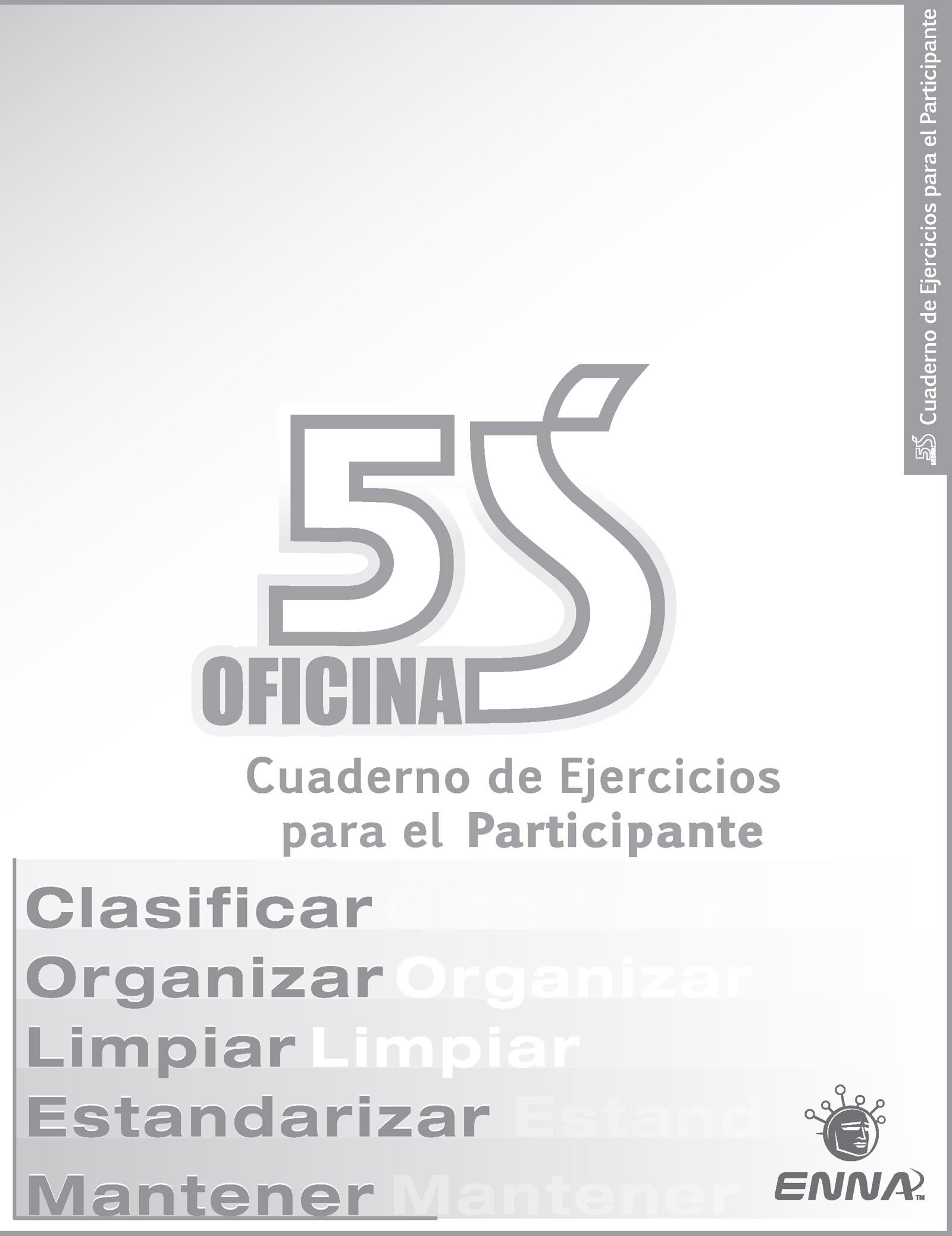 5S Office Participant Workbook (Spanish): 1st Edition (Paperback) book cover