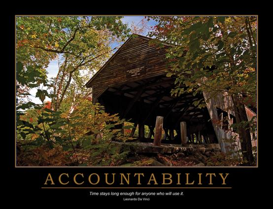 Accountability Poster: 1st Edition (Poster) book cover