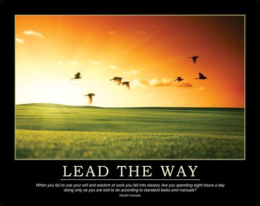 Lead the Way Poster book cover