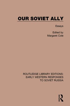 Our Soviet Ally: Essays, 1st Edition (Hardback) book cover