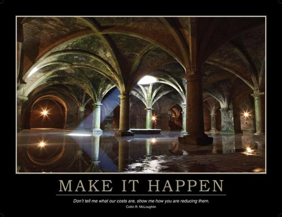 Make it Happen Poster: 1st Edition (Poster) book cover