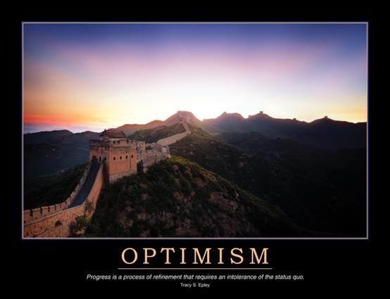 Optimism Poster: 1st Edition (Poster) book cover