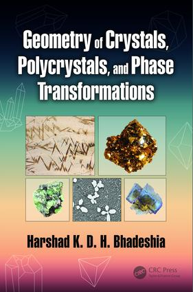 Geometry of Crystals, Polycrystals, and Phase Transformations: 1st Edition (Hardback) book cover