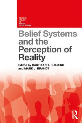 Belief Systems and the Perception of Reality: 1st Edition (Paperback) book cover